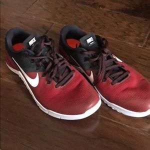 Nike athletic shoes OU issued athletic gear